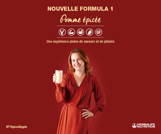 Formula1 Pomme épice